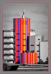 Brutalismus... (diezin) Tags: 2604 album6 architektur architekturhighlights bauwerke beton brutalismus bunt bwc deutschland diezin essen flickr gebäude hochhäuser hochhaus nikond5300 schwarzweisfarbe swfarbe swundfarbe tamron70300 unperfekthaus dzsmd335 dzsmd600 dzsmd635 wohnblocks hotelburgen wolkenkratzer
