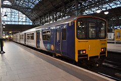 Northern Sprinter 150120 (Will Swain) Tags: manchester piccadilly station 13th september 2019 train trains rail railway railways transport travel uk britain vehicle vehicles england english europe transportation class northern sprinter 150120 150 120