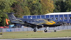 Pilatus PC-12/47E, Hendell Aviation, OH-DEN (maxguenat) Tags: avion spotter spotting cointrin atterrissage