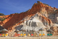 Empty Beach (nigelboulton72) Tags: summer rocks cliffs beach vacation holiday algarve portugal