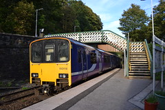 Northern Sprinter 150118 (Will Swain) Tags: new mills central station 14th september 2019 train trains rail railway railways transport travel uk britain vehicle vehicles england english europe transportation class northern sprinter 150118 150 118