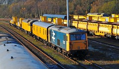 73207 along with 57306 behind and an unidentified class 57 over the back are seen at Tonbridge West Yard on 11-12-12. Copyright Ian Cuthbertson (I C railway photo's) Tags: class73 73207 class57 57306 tonbridgewestyard twy largelogo ed snowtrain