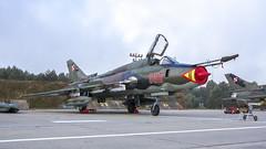 Su-22M4 (kamil_olszowy) Tags: su22m4 fitterk fighter bomber 8816 siły powietrzne rp polish air force mirosławiec epmi green camuflage су22м4 sukhoi сухой ввс польши