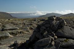 Summit and Clouds (steve_whitmarsh) Tags: aberdeenshire scotland scottishhighlands highlands cairngorms tsagairtmor mountain hills rock rocks summit landscape nature topic