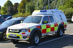 EX59 JVW (S11 AUN) Tags: midland fire rescue service brigade rescueservice ford ranger pickup 4x4 officer response car station emergency vehicle ex59jvw