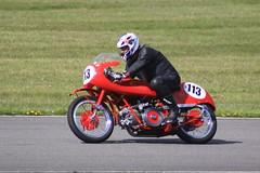 Photo of Moto Guzzi 500cc Falcone, CRMC, Pembrey, Carmarthenshire. 19th April 2014. IMG_7623