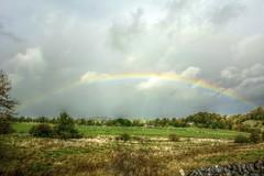 Rainbow (Tony Tooth) Tags: nikon d7100 sigma 1750mm rainbow hdr countryside sky cloud staffs staffordshire hulmeend england