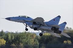 Mikoyan MiG-29M2 - 03 (NickJ 1972) Tags: maks zhukovsky airshow 2019 aviation mikoyan mig29 fulcrum 747 blue