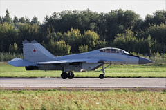 Mikoyan MiG-29M2 - 11 (NickJ 1972) Tags: maks zhukovsky airshow 2019 aviation mikoyan mig29 fulcrum 747 blue