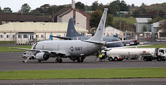 168997 (PrestwickAirportPhotography) Tags: egpk prestwick airport usn united states navy boeing p8a poseidon 168997 nas whidbey island