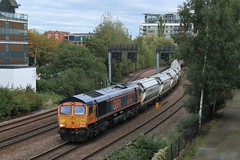 GBRf Class 66 66756 'Royal Corps of Signals' (Adam Fox - Plane and Rail photography) Tags: british rail railways br railroad railway tracks shed diesel loco locomotive freight train lincoln uk united kingdom britain great east holmes junction jn 6e88 1226 middleton towers gbrf goole glassworks