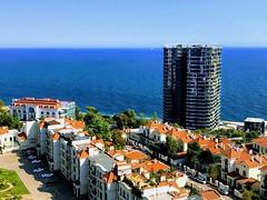 Arcadia (Odesa) torres en construcción en la costa del Mar Negro. (Miguelángel) Tags: ucrania odesa arcadia costa leydecostas resort veraneo apartamentos hotel