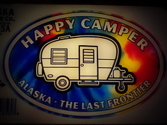 279/365 Happy Camper (OhWowMan) Tags: ohwowman nikon nikkor d3300 acdseepro9 my2019challenge 365project animageaday dailyphotography 365the2019edition 3652019 day279365 06oct19 happycamper sticker
