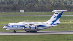 RA-76951 Ilyushin IL76-90VD (2) (Disktoaster) Tags: dus düsseldorf airport flugzeug aircraft palnespotting aviation plane spotting spotter airplane pentaxk1