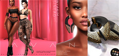 Avanti @ BLACK FAIR (Intoxicate @ Second Life) Tags: avanti accessories black blackfair 3d event fashion wedosl jewelry leggings mesh original sl secondlife virtualreality