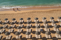 Walk on by (nigelboulton72) Tags: parasol loungers summer sun relax vacation holiday sea beach portugal algarve