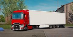 (gripshotz) Tags: renault range t 460 krone cool liner mega trailer euro truck simulator ets 2