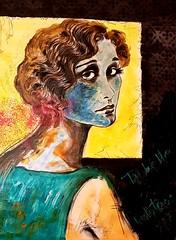 Lumiére (franck.sastre) Tags: art painting pictures años20 miradas misterio tristeza mujer colors
