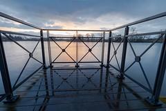 Hédé - Lever de soleil (allcats35) Tags: bretagne brittany hédé reflets reflects leverdesoleil sunrise paysage landscape canon