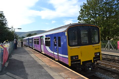 Northern Sprinter 150118 (Will Swain) Tags: edale station 14th september 2019 arriva train trains rail railway railways transport travel uk britain vehicle vehicles england english europe transportation class hope valley northern super sprinter 156459 156 459 150118 150 118