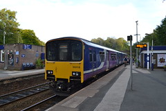 Northern Sprinter 150118 (Will Swain) Tags: romiley station 14th september 2019 train trains rail railway railways transport travel uk britain vehicle vehicles england english europe transportation class marple northern sprinter 150118 150 118