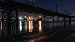 Rock Ferry Pier (Rob Pitt) Tags: rock ferry pier river mersey longexposure dark darkness slipway slip way 2470 f4 l sony a7rii wirral merseyside liverpool