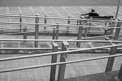 untitled (gregor.zukowski) Tags: szczecin street streetphoto streetphotography peopleinthecity candid urban blackandwhite blackandwhitestreetphotography geometry fujifilm
