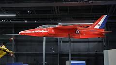 Royal Air Force Folland Gnat XR977 (Rob390029) Tags: royal air force folland gnat xr977 raf museum hendon london