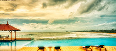 Saman Villas - Infinity Pool 2 (Beninu Andersen) Tags: srilanka samanvillas bentota infinitypool poolside panoramic panorama cloudscape indianocean twilight oceanview luxuryhotels