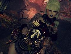 Hallowwe BB 1 (dreamers.photography) Tags: dia los muertos irrisistible shop avatar skin horror halloween
