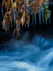 Icetime II (Fjällkantsbon) Tags: doroteakommun väder sverige is lappland evamårtensson högland kroksjöbäcken västerbottenslän ice stream lapland platser