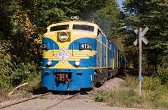 Worth the Weed Whacking (Joseph Bishop) Tags: nyle newyorklakeerie 6758 alco mlw fpa4 gowanda trains train track tracks railfan railroad railway rail rails