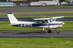 G-BTDW Cessna 152 Prestwick 01.10.19 (Robert Banks 1) Tags: gbtdw cessna 152 c152 prestwick egpk pik