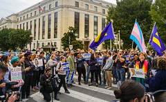 2019.10.08 SCOTUS Protest for LGBTQ Equality, Washington, DC USA 281 24027