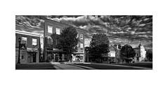 Across The Street... (roylee21918) Tags: harford havredegrace hdg anytown smalltown monochrome blackwhite bnw dxo photolab silverefex