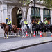 Extinction Rebellion blocking Trafalgar Square, London, 07.10.2019