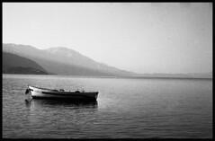 and the sea (Michael Kommarov) Tags: nikon f3 voigtlander 58mm ilford xp2 film analog 35mm black white lomography high contrast macedonia ohrid lake lomo bwworldwithnikon
