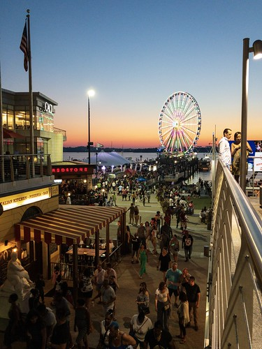 Sunset at National Harbor