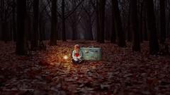 Alone (MrPessimist) Tags: melancholy lonely alone littlegirl adorable photoart cute sweet girl people portraitphotography portrait nikonphotography photoshop nikon photomanipulation composite