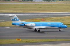 KLM Cityhopper PH-KZL Fokker F70 cn/11536 wfu 27 Oct 2017 std at NWI 29-10 - 24-11-2017 reg 5B-DDA Tus Airways 14 Dec 2017 @ EDDL / DUS 16-06-2017 (Nabil Molinari Photography) Tags: klm cityhopper phkzl fokker f70 cn11536 wfu 27 oct 2017 std nwi 2910 24112017 reg 5bdda tus airways 14 dec eddl dus 16062017