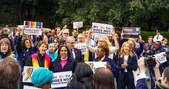 2019.10.08 SCOTUS Protest for LGBTQ Equality, Washington, DC USA 281 24015