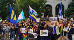 2019.10.08 SCOTUS Protest for LGBTQ Equality, Washington, DC USA 281 24018