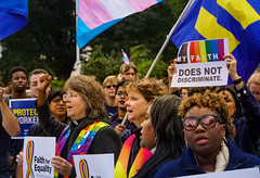 2019.10.08 SCOTUS Protest for LGBTQ Equality, Washington, DC USA 281 24024