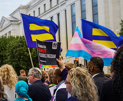 2019.10.08 SCOTUS Protest for LGBTQ Equality, Washington, DC USA 281 24029