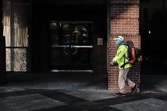 Sidewalk Scenes - Keeping it Clear (Flotography Streets) Tags: street urban austin fujifilm work workers