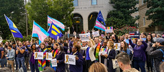 2019.10.08 SCOTUS Protest for LGBTQ Equality, Washington, DC USA 281 24019