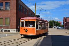 Fort Smith Trolley Museum #224 (Jim Strain) Tags: jmstrain trolley tram streetcar railway railroad arkansas fortsmith transit museum