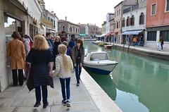Walking On Fondamenta Daniele Manin (Joe Shlabotnik) Tags: italia venezia 2019 italy violet murano canal sue april2019 venice afsdxvrzoomnikkor18105mmf3556ged