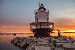 spring point (paul noble photography) Tags: maine mainephotographers morning mainecoast morninglight lighthouse landscape seascapes sunrise summerinmaine summer springpointlighthouse southportland southportlandmaine sopo nikon nikon2470mmf28 nikond810 interestingness insanelight interesting lobsterboats newengland portlandharbor cascobay atlanticocean vacationland visitmaine vacation freelancephotographer freelancephotographersinportlandmaine ayuh