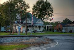Rural Southern Living (ap0013) Tags: georgia house unadilla rural south southern unadillageorgia railroad railroadcrossing